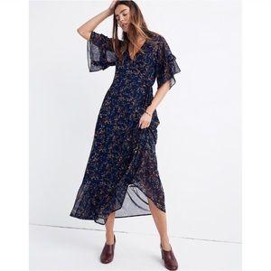 Madewell Vervain maxi dress